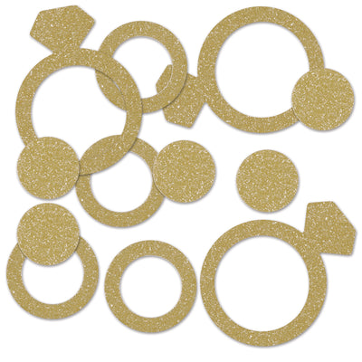 Diamond Ring Deluxe Sparkle Confetti (12 Packages)