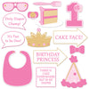 1st Birthday Photo Fun Signs (Pack of 168)