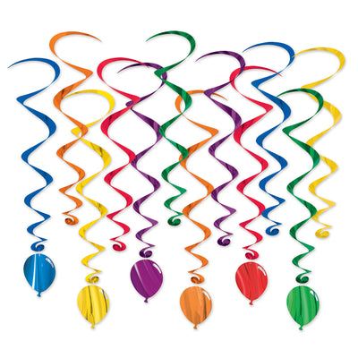 Balloon Whirls (Pack of 72)