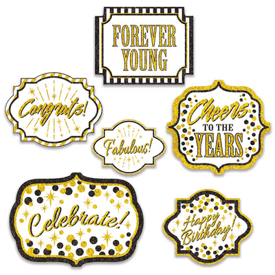Forever Young Cutouts (Pack of 72)