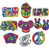 60's Cutouts (Pack of 120)