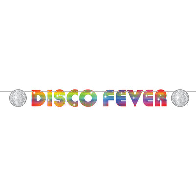 70's Disco Fever Streamer (Pack of 12)