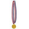 Champion Medal w/Ribbon (Pack of 12)