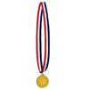 Basketball Medal w/Ribbon (Pack of 12)