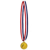 Football Medal w/Ribbon (Pack of 12)
