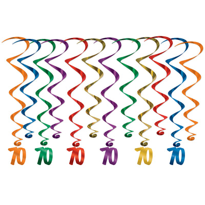 70  Whirls (Pack of 72)