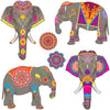 Elephant Cutouts (Pack of 72)