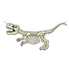 T-Rex Skeleton Streamer (Pack of 12)