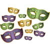 Beistle Mardi Gras Mask Cutouts (12 packs) - Mardi Gras Party Decorations, Mardi Gras Party Supplies