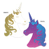 Beistle Unicorn Cutout (Pack of 12) - Unicorn Party Theme
