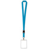 Lanyard with Card Holder, blue