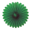 Mini Tissue Fans, green