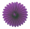 Mini Tissue Fans, purple