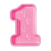 Pink Plastic Baby's 1st Birthday Tray, party supplies, decorations, The Beistle Company, 1st Birthday, Home > Baby Shower Decorations > Baby Shower Decorations > Miscellaneous Baby Shower Decorations
