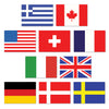 Mini International Flag Cutouts ->