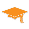 Graduation Party Supplies: Mini Grad Cap Cutouts