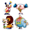 Birthday Party Supplies - Circus Cutouts