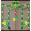 Jungle Monkey Party Canopy - Jungle Party Theme