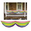 Spring Rainbow Fabric Bunting, multi-color