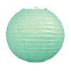 Paper Lanterns Mint Green, party supplies, decorations, The Beistle Company, General Occasion, Bulk, General Party Decorations, Paper Lanterns