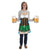Fraulein Fabric Novelty Apron (6ct)