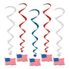 American Flag Whirls
