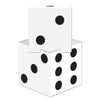 3-D Dice Stacking Centerpiece, party supplies, decorations, The Beistle Company, Casino, Bulk, Casino Party Supplies, Casino Party Decorations