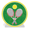 3-D Tennis Centerpiece, party supplies, decorations, The Beistle Company, Tennis, Bulk, Sports Party Supplies, Tennis Party Supplies