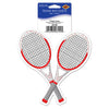 Tennis Racquets Peel 'N Place Clings, party supplies, decorations, The Beistle Company, Tennis, Bulk, Sports Party Supplies, Tennis Party Supplies
