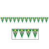 Tennis Pennant Banner, party supplies, decorations, The Beistle Company, Tennis, Bulk, Sports Party Supplies, Tennis Party Supplies