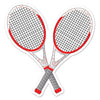 Tennis Racquets Cutout, party supplies, decorations, The Beistle Company, Tennis, Bulk, Sports Party Supplies, Tennis Party Supplies