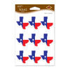 Texas Stickers, party supplies, decorations, The Beistle Company, Western, Bulk, Western Party Theme, Western Party Decorations