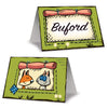 Woodland Friends Place Cards, party supplies, decorations, The Beistle Company, Woodland Friends, Bulk, Other Party Themes, Woodland Friends