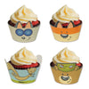 Woodland Friends Cupcake Wrappers, party supplies, decorations, The Beistle Company, Woodland Friends, Bulk, Other Party Themes, Woodland Friends