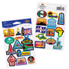 Beistle Passport Stickers (12 packs) - Around The World Party Theme