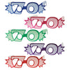 Birthday Party - ''70'' Glittered Foil Eyeglasses