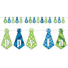 Beistle Happy Father's Day Streamer (Pack of 12) - Fathers Day Party Supplies