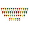 Beistle School Days Streamer Set (Pack of 12) - Back to School Decorations