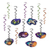 Spaceship Whirls (Pack of 72)