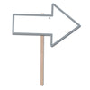 Blank'' Arrow Yard Sign