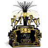 Beistle Great 20's Centerpiece (Pack of 12) - Roaring 20's Party Theme