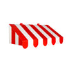 3-D Red & White Awning Wall Decoration, party supplies, decorations, The Beistle Company, Circus, Bulk, Other Party Themes, Circus Party Theme
