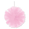 Tulle Balls Pink, party supplies, decorations, The Beistle Company, General Occasion, Bulk, General Party Decorations, Tulle Balls