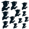 Beistle Boy Graduate Silhouettes (12 packs) - Graduation Party Decorations, Miscellaneous Graduation Decorations