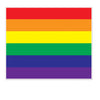 Beistle Rainbow Insta-Mural Photo Op (Pack of 6) - General Party Decorations, Misc. Party Decorations