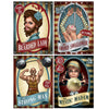 Beistle Vintage Circus Poster Cutouts (12 packs) - Vintage Circus Party Theme