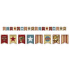 Beistle Vintage Circus Streamer (Pack of 12) - Vintage Circus Party Theme