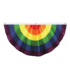 Rainbow Fabric Bunting, party supplies, decorations, The Beistle Company, Rainbow, Bulk, Other Party Themes, Rainbow