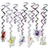 Beistle Fairy Whirls (6 packs) - Fantasy Party Theme