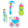 Baby Shower Decorations - Showers Of Joy Cutouts